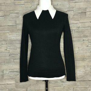 Millicenti black and white sweater